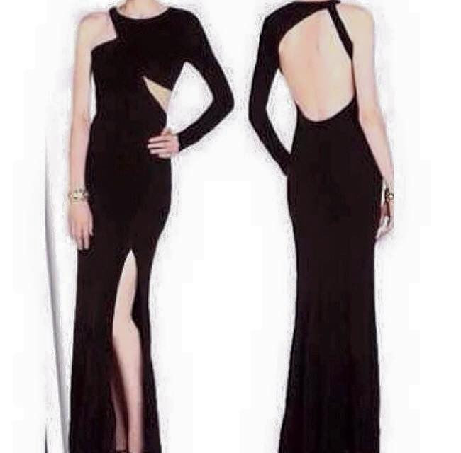 Reyka Bodycon Long Dres