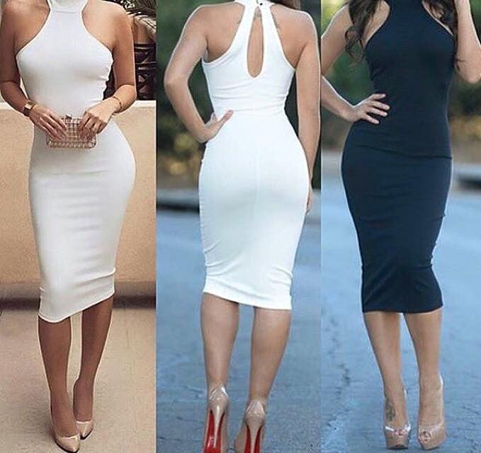 Rizza Bodycon Sleeveless Dress