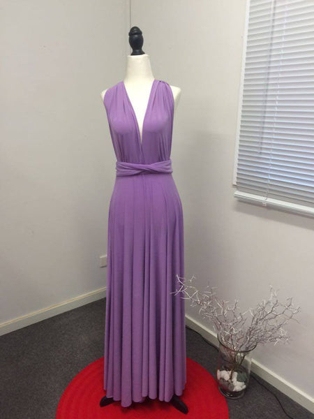 Infinity Bridesmaids Dresses in Lavender