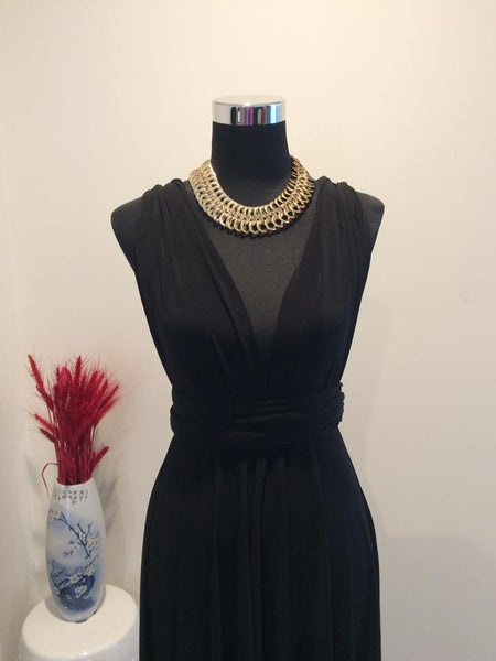 Black Convertible/Multi-Way Dress
