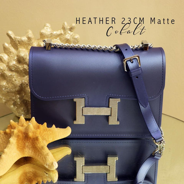 Heather Sling Bag-Cobalt