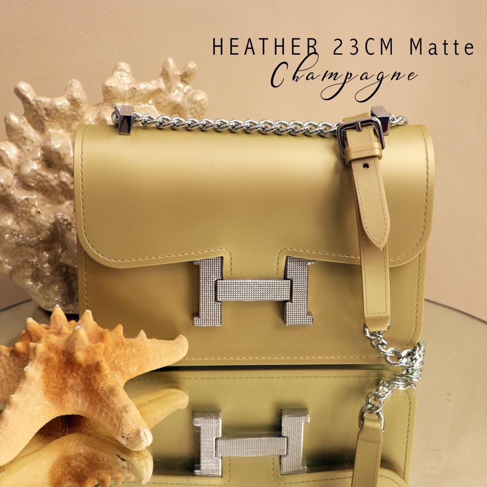 Heather Sling Bag-Champagne