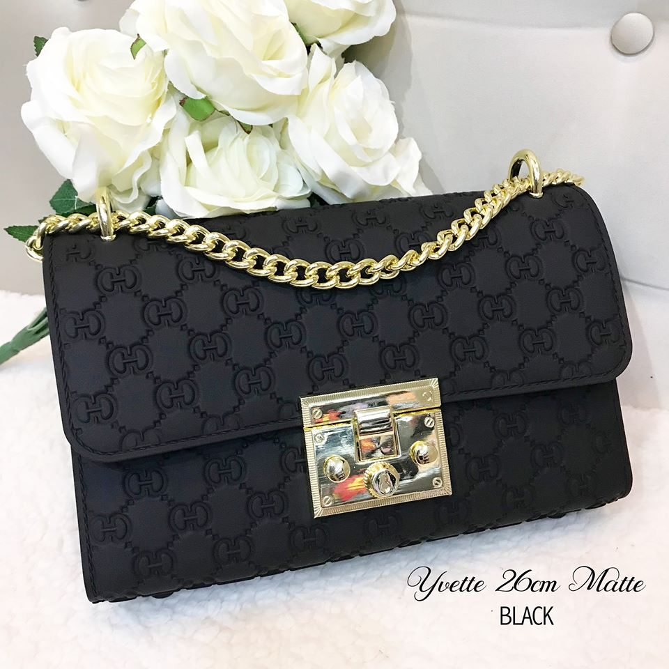 Yvette Sling Bag in Black