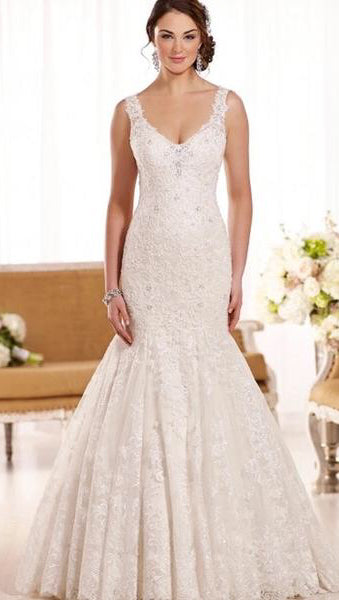 Laura Bridal Couture Romantic Mermaid Dress