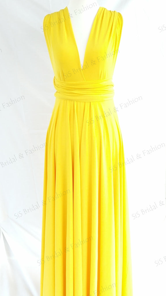 Yellow Gold Convertible Infinity Dress