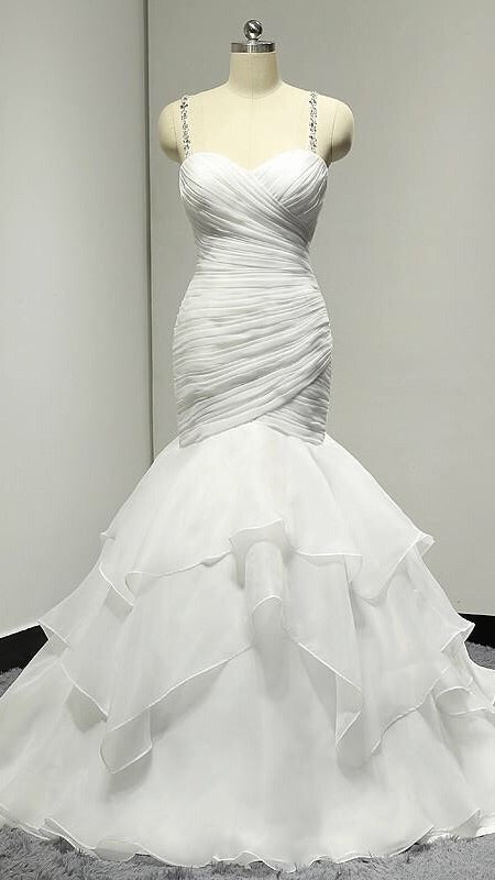 Laura Bridal Couture Sexy Trumpet Dress