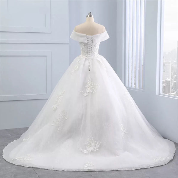 Prinsesa Vintage Bridal Ball Gown""
