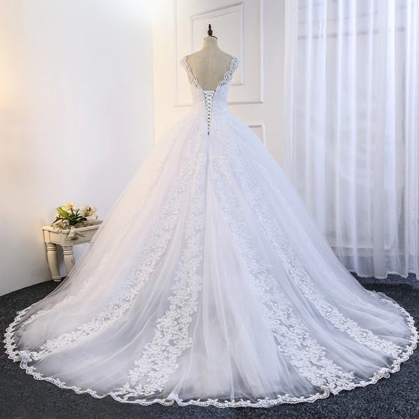 "Laura Bridal Couture ""Lace Ball Gown"""