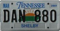 Tennessee Sounds Good License Plate