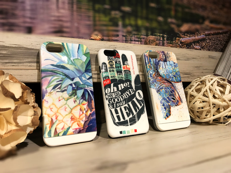 Artwork phone cases for iPhone 8 and samsung galaxy