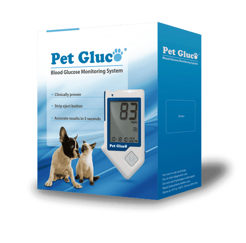PET GLUCO Blood Glucose Testing Kit
