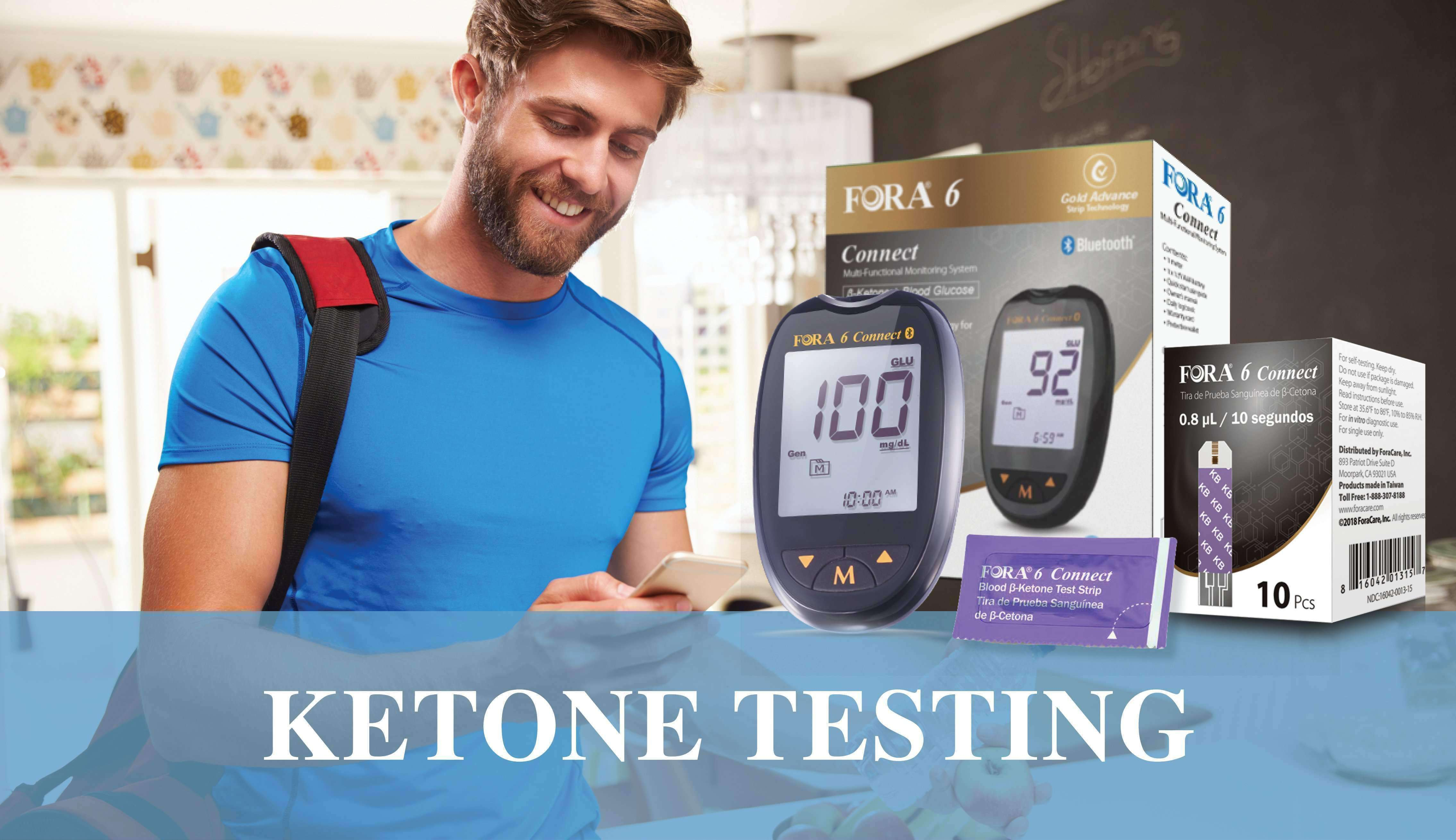 FORA Ketone Testing  Products