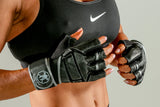 YOUTH SIZE Heavy Duty Weight Lifting Gloves w/ Wrist Wrap