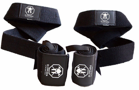 Olympiada Wrist Wraps + Lifting Straps BEST STARTER PACK!