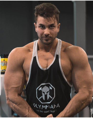 Tankk-Men's Stringer - Too Chill / Beast Mode