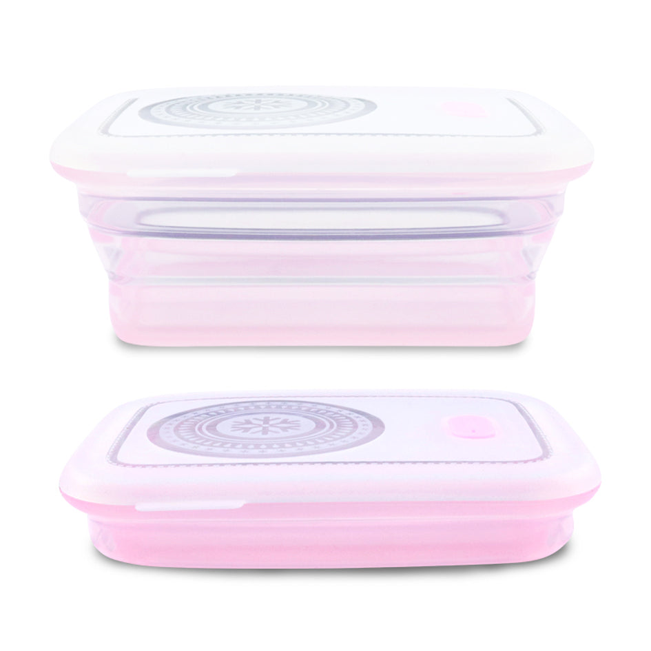 Collapsible Silicone Food Container Silicone Lunch Box Haakaa