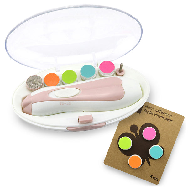 Baby Nail Care Set & Replacement Pads Combo