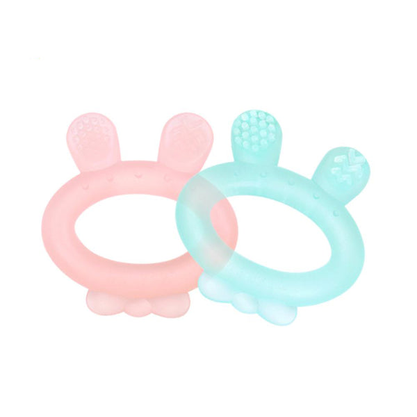 Rabbit Silicone Teether - Haakaa