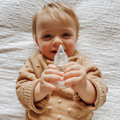Easy-Squeezy Silicone Bulb Syringe (0m+)