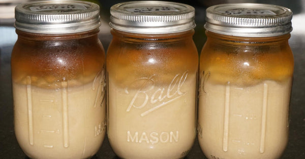 Mason jar & home brewing