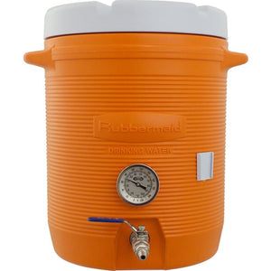 Cowboy Craft LLC Cooler Mash Tun With Thermometer - 10 Gallon 冷却装置  | クラフトビール直送のCowboy Craft