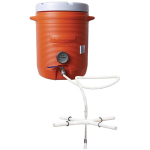 Cowboy Craft LLC 10 Gallon Cooler Hot Liquor Tank With Thermometer 冷却装置  | クラフトビール直送のCowboy Craft
