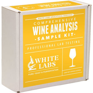 Cowboy Craft LLC White Labs Test Kit Comprehensive - TA, pH, SO2, Brettanomyces, Residual Sugar, Alcohol and Malic Acid content | クラフトビール直送のCowboy Craft