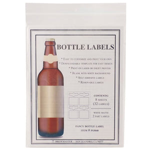 Cowboy Craft LLC Bottle Labels - 2-Part - Pack of 32 ラベル  | クラフトビール直送のCowboy Craft