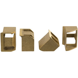 Cowboy Craft LLC Replacement Brass Jaws for Ferrari Floor Corker Set Of 4 | クラフトビール直送のCowboy Craft