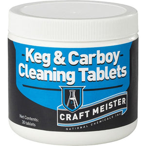 Cowboy Craft LLC Craft Meister Keg and Carboy Cleaning Tablets サーバークリーナー・洗浄剤  | クラフトビール直送のCowboy Craft