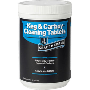 Cowboy Craft LLC Craft Meister Keg and Carboy Cleaning Tablets | クラフトビール直送のCowboy Craft