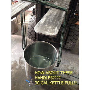 Cowboy Craft LLC 30 gal | Ss Brew Kettle 煮沸鍋  | クラフトビール直送のCowboy Craft