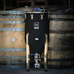 Cowboy Craft LLC Chronical Half Barrel FTSs - Fermentation Temperature Stabilization System 円錐型・ステンレスタイプ  | クラフトビール直送のCowboy Craft