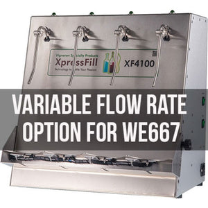 Cowboy Craft LLC Xpress Fill Level Filler - 4 Spout Variable Flow Rate Option | クラフトビール直送のCowboy Craft