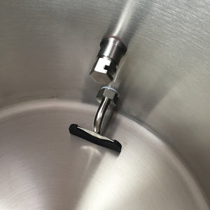 "Cowboy Craft LLC Ss BrewTech WhirlPool Fitting - 1/2"" MPT 