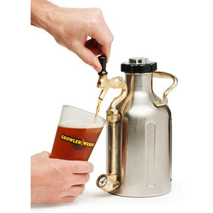 Cowboy Craft LLC GrowlerWerks Pressurized SS Growler - 64 oz uKeg  | クラフトビール直送のCowboy Craft