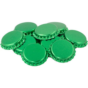 Cowboy Craft LLC Bottle Caps - Green - Oxygen absorbing - Case of 10,000 キャップ・王冠  | クラフトビール直送のCowboy Craft