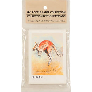 Cowboy Craft LLC Wine Kit Label - Shiraz (Pack of 30) ラベル  | クラフトビール直送のCowboy Craft