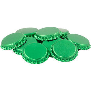 Cowboy Craft LLC Crown Caps - Green - Oxygen Barrier - Case of 10,080 | クラフトビール直送のCowboy Craft
