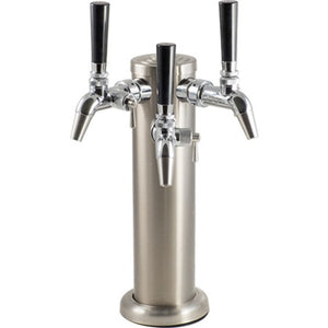 Cowboy Craft LLC Stainless Steel Draft Tower with Intertap Flow Control Faucet ディスペンサー、フォウセット関連  | クラフトビール直送のCowboy Craft