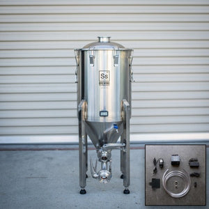 Cowboy Craft LLC 14 gal | Chronical Brewmaster Edition Fermenter with FTSs Chilling Package 円錐型・ステンレスタイプ  | クラフトビール直送のCowboy Craft