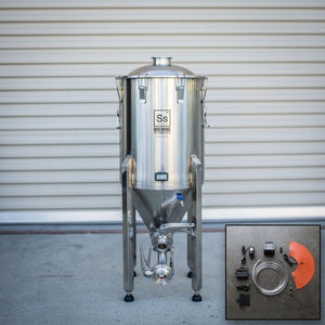 Cowboy Craft LLC 14 gal | Chronical Brewmaster Edition Fermenter with FTSs Heating & Chilling Package 円錐型・ステンレスタイプ  | クラフトビール直送のCowboy Craft