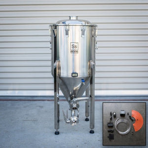 Cowboy Craft LLC Half bbl | Chronical Brewmaster Edition Fermenter with FTSs Heating & Chilling Package | クラフトビール直送のCowboy Craft