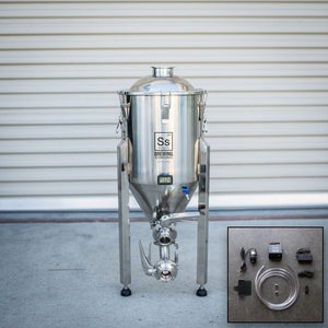 Cowboy Craft LLC 7 gal | Chronical Brewmaster Edition Fermenter with FTSs Chilling Package 円錐型・ステンレスタイプ  | クラフトビール直送のCowboy Craft