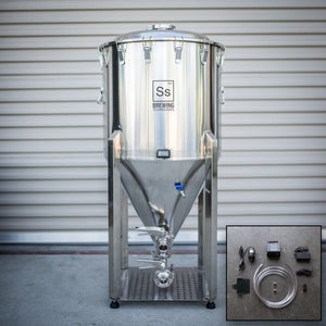 Cowboy Craft LLC One bbl | Chronical Brewmaster Edition Fermenter with FTSs Chilling Package 円錐型・ステンレスタイプ  | クラフトビール直送のCowboy Craft