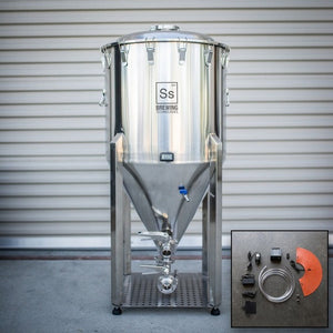 Cowboy Craft LLC One bbl | Chronical Brewmaster Edition Fermenter with FTSs Heating & Chilling Package 円錐型・ステンレスタイプ  | クラフトビール直送のCowboy Craft