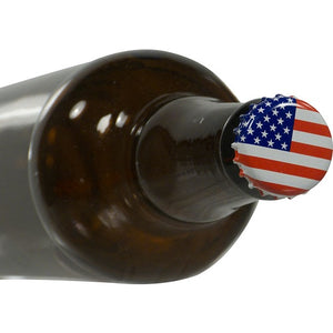 Cowboy Craft LLC Bottle Caps - American Flag - Oxygen absorbing - Case of 10,000 キャップ・王冠  | クラフトビール直送のCowboy Craft