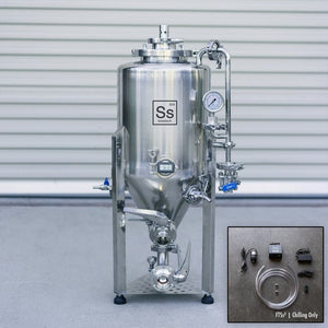 Cowboy Craft LLC Ss Brewtech Unitank - 7 gal (With Chilling Package) | クラフトビール直送のCowboy Craft