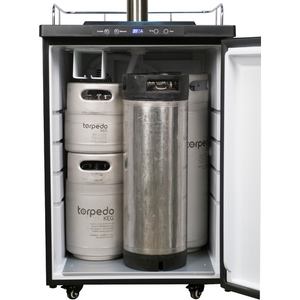 Cowboy Craft LLC Kegerator With Stainless Steel Intertap Faucets - DROPSHIP ONLY | クラフトビール直送のCowboy Craft