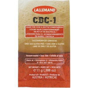 CBC-1 Cask And Bottle Conditioned Yeast - 11 g Sachet